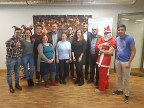 International Management Christmas party 2018
